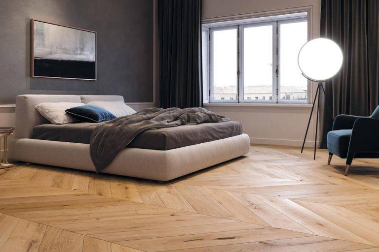 pavimento camera da letto in bamboo