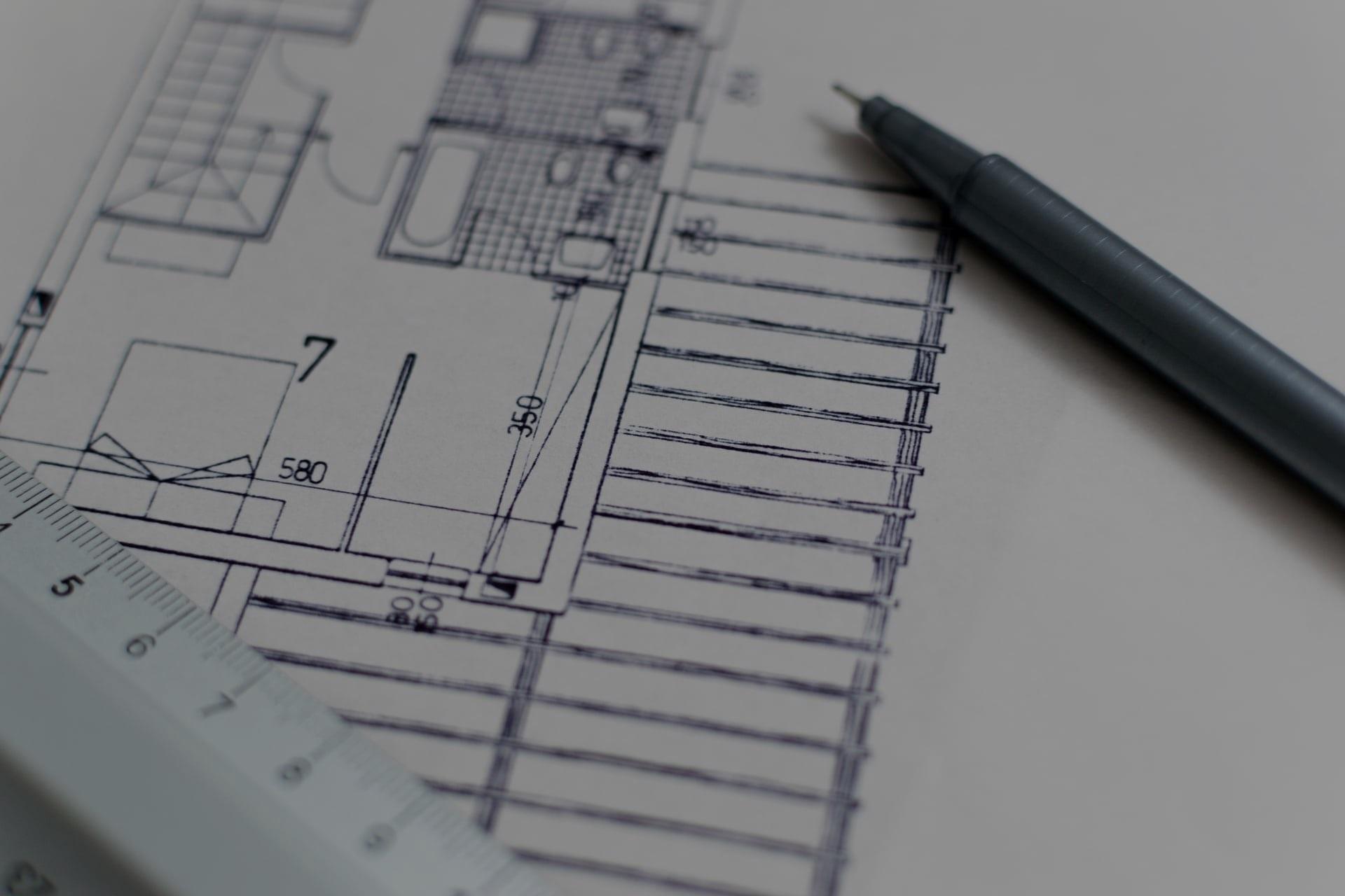 planimetria per lavori di ristrutturazione casa
